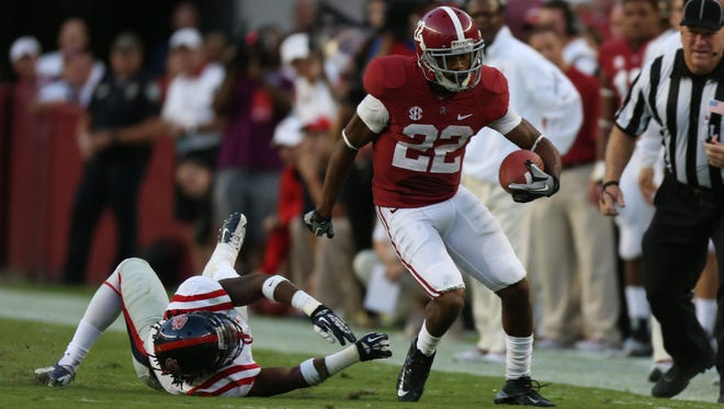 Christion Jones made his way into the top five in punt and kickoff returns in Alabama's single-season records with his performance in 2013.