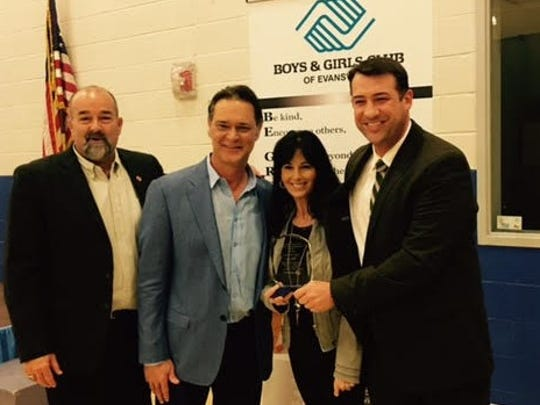 Giving back The Boys and Girls Club of Evansville was