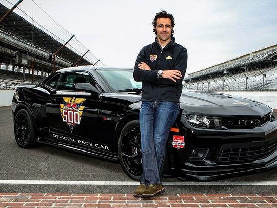 Three-time Indianapolis 500 winner Dario Franchitti will drive a 2014 Chevrolet Camaro Z/28 to pace the 98th running of the Indianapolis 500 on May 25.