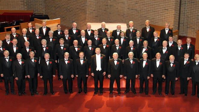 The Langsford Men's Chorus will sing May 13 in Royal Oak and May 15 in Novi.