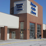 The current Webster Public Library entrance will be closed permanently on January 25.