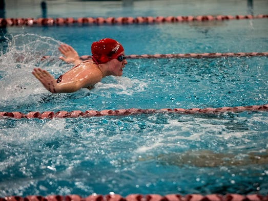 Area Swim Standouts Perform Well In Relaxed Atmosphere