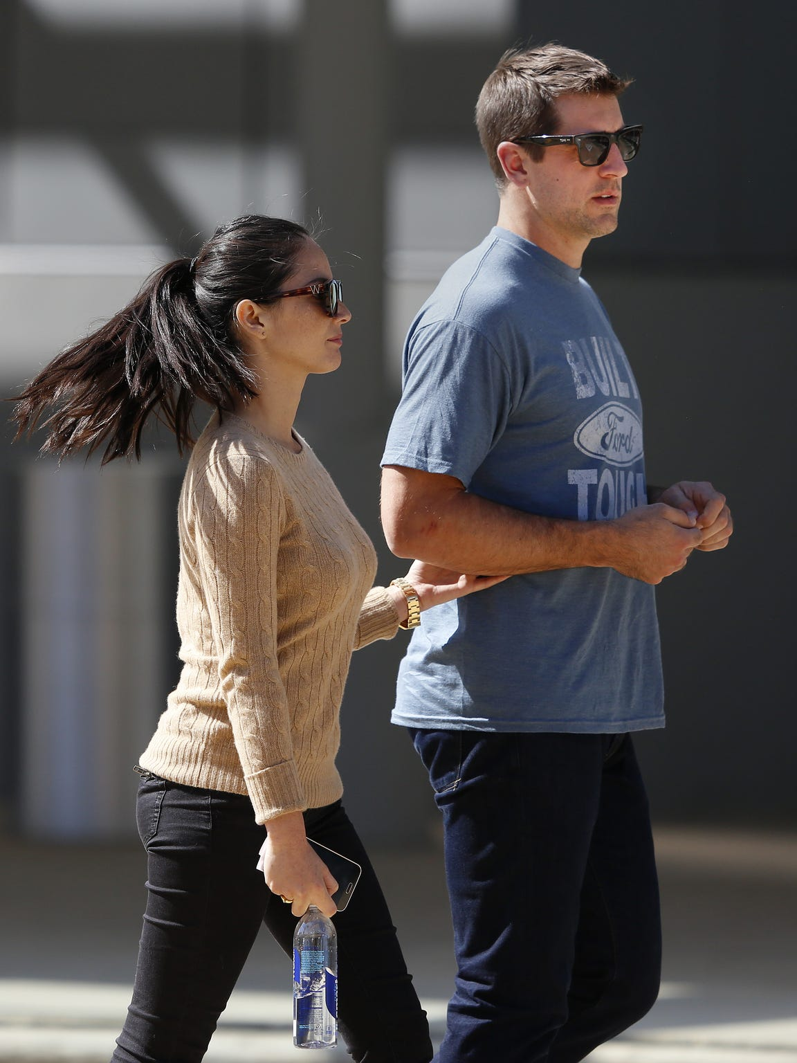 Green Bay Packers quarterback Aaron Rodgers and actress