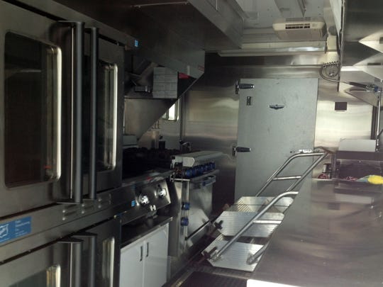 A full kitchen with walk-in freezer helps keep volunteers fed.