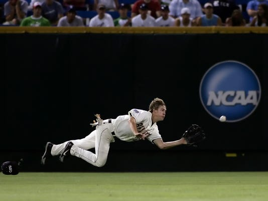 Expected to be a center fielder/leadoff man for the Revs, Graham has been an exciting player on the field, dating back to his days at the College World Series in 2006. (AP photo)