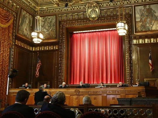 The Ohio Supreme Court.  [Fred Squillante/Dispatch]