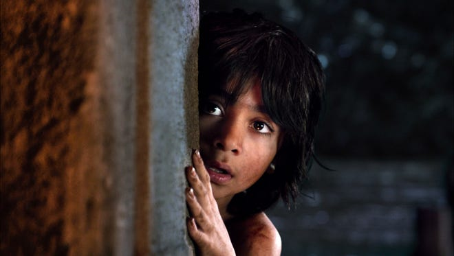 "Neel Sethi is Mowgli in ""The Jungle Book."""