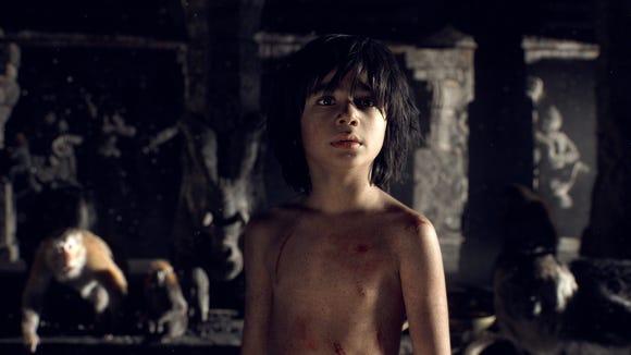 Neel Sethi stars as Mowgli in Disney's live-action