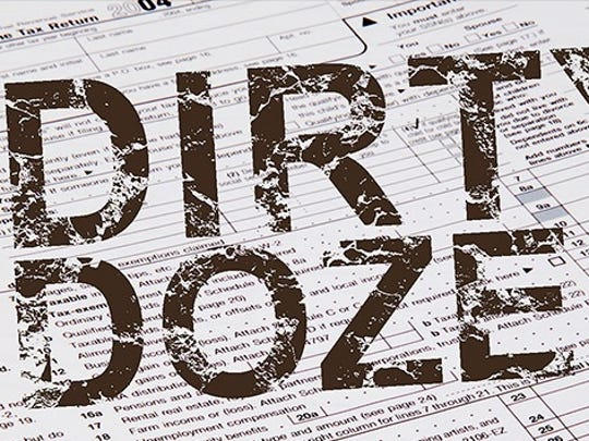 """IRS """"Dirty Dozen"""" tax scams for 2015."""