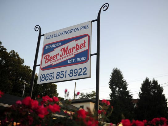 Bearden Beer Market is at 4524 Old Kingston Pike.