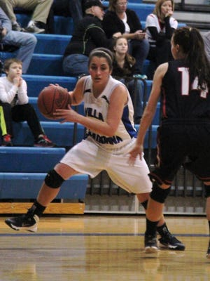 Villa Madonna's Lexie Aytes needs to score just over 100 points to reach 1,000 in her career