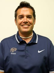 UTEP first year tennis coach Ivan Fernandez.