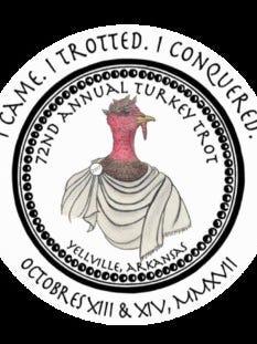 Logo for 2017 Turkey Trot