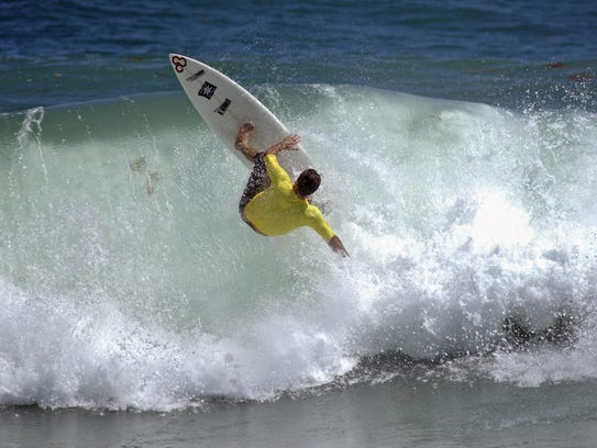 World-class touring pro Todd Holland of Cocoa Beach