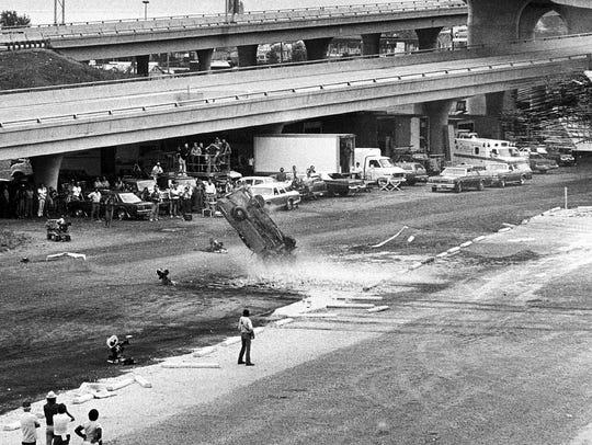 Wreckage marks the key scene filmed in Milwaukee for
