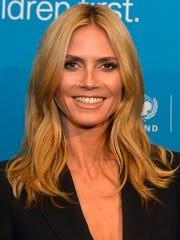 Heidi Klum looks fab at 41.