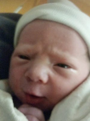 Maclane Thomas Flynn was born at 3:16 p.m. on December 13.