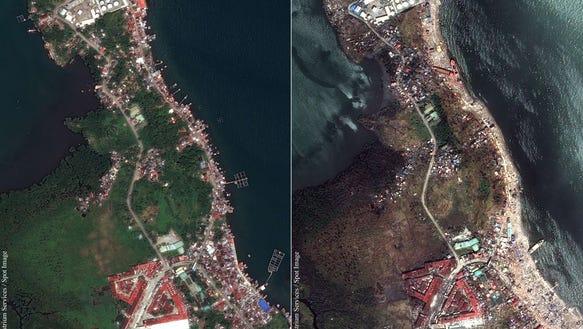 Haiyan damage