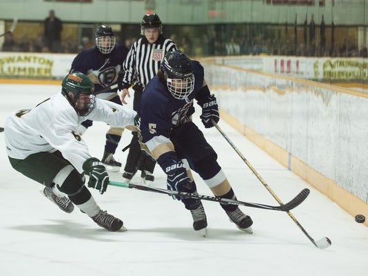 Essex vs. BFA St. Albans Boys Hockey 02/17/16