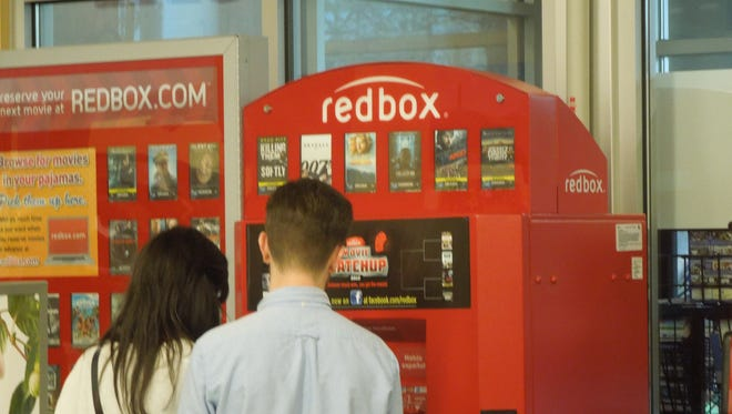 Picture of a redbox stand via thekirbster on Flickr.