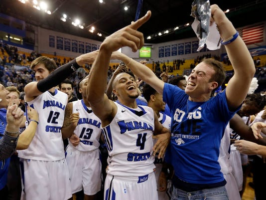AP BUTLER INDIANA ST BASKETBALL S BKC T25 USA IN