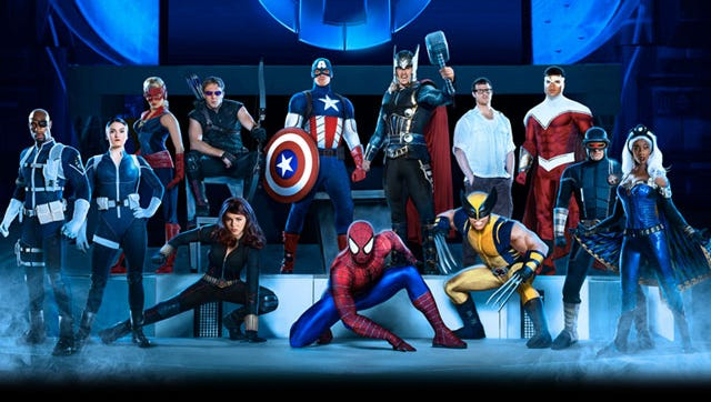 Marvel Live Tour Coming to Fresno's Save Mart Center in April 2015