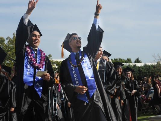 Moorpark College graduation 1