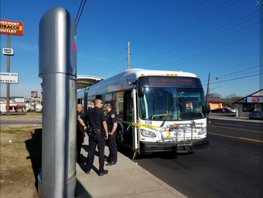 A shooting Nov. 27, 2017, on a Madison bus left one