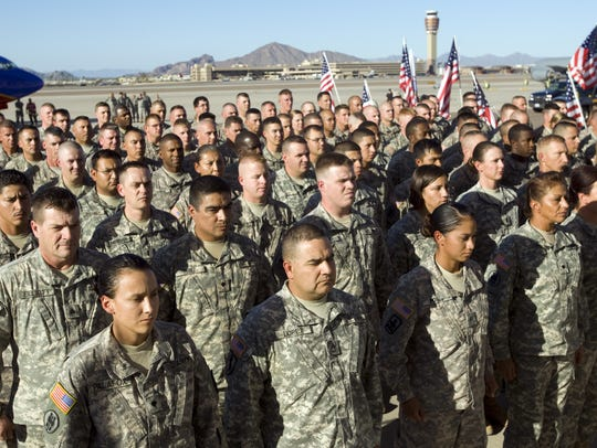Army National Guard, hiring 210. The Guard is looking