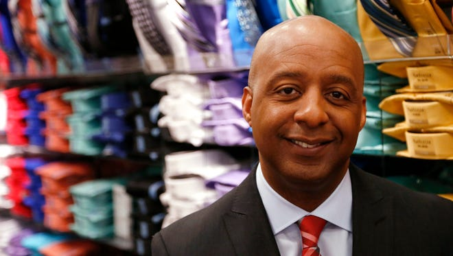 J.C. Penney president and CEO-designee Marvin Ellison is shown at the J.C. Penney store at Stonebriar Centre in Frisco, Texas, on March 31, 2015. He came to Penney from Home Depot, where he was executive vice president over its 2,000 U.S. stores. (Vernon Bryant/Dallas Morning News/TNS)