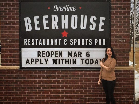 Kristi Cobb has opened Overtime Beerhouse, formerly Overtime sports bar and grill, in Urbandale. The business features a large selection of craft and microbrew beer.