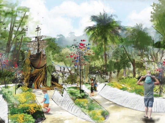 The planned Children's Garden will be a fun, whimsical