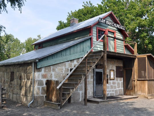 Kam Wah Chung Museum in John Day is a two-story stone structure built by Chinese gold miners in the late 1860s as a combination pharmacy, cultural center, temple, opium den and fortress.