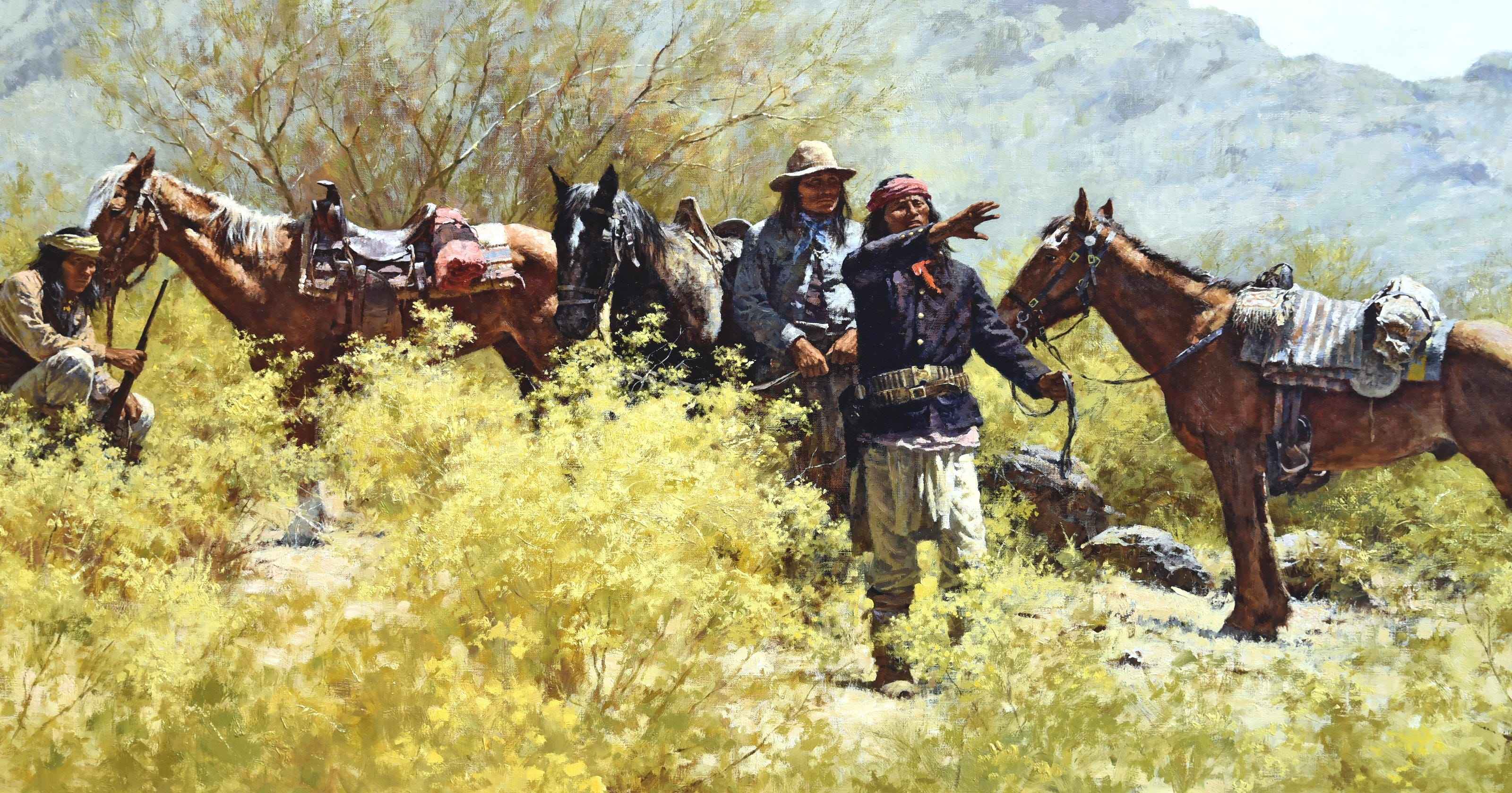 Paintings give insight to Native American culture