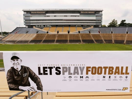 """""""Let's Play Football"""" follows Jeff Brohm to Ross-Ade"""