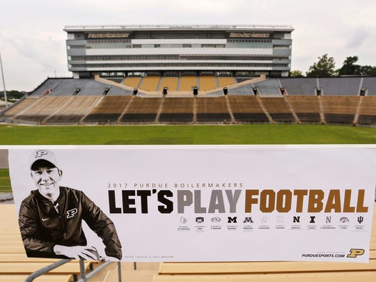 """Let's Play Football"" follows Jeff Brohm to Ross-Ade Stadium as the head coach of the Boilermakers."