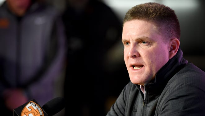 Bob Shoop left Penn State in January 2016 to become defensive coordinator at Tennessee.