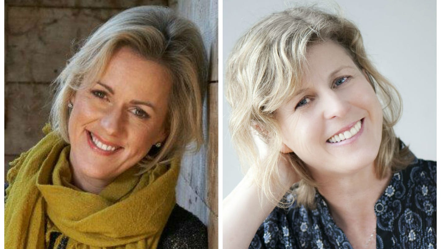 Authors Jojo Moyes and Liane Moriarty conquer America