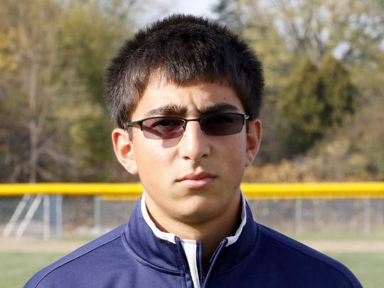 Co-Athlete of the Week Aidan Sharma in a photo from Oct. 21, 2015.