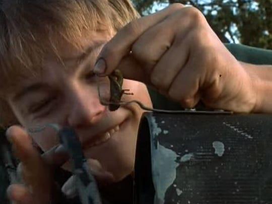 "Leonardo DiCaprio in a scene from ""What's Eating Gilbert Grape."""