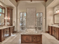 The master bath at 400 Moonlit Trail in Salem. Listed