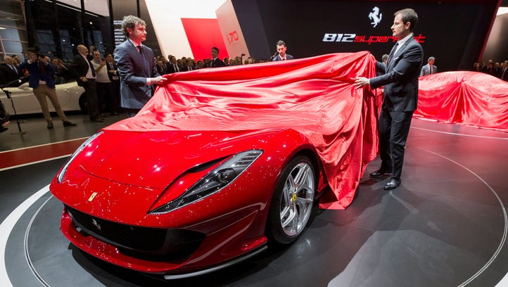Real quick: Check out the Ferrari 812 Superfast