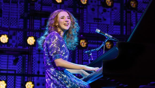 "Julia Knitel stars in ""Beautiful: The Carole King Musical."""