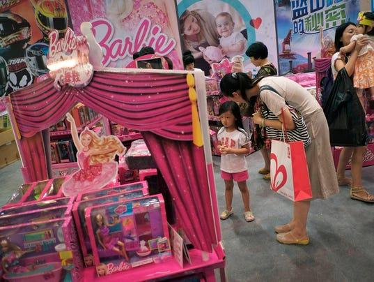 AP Earns Mattel Inc