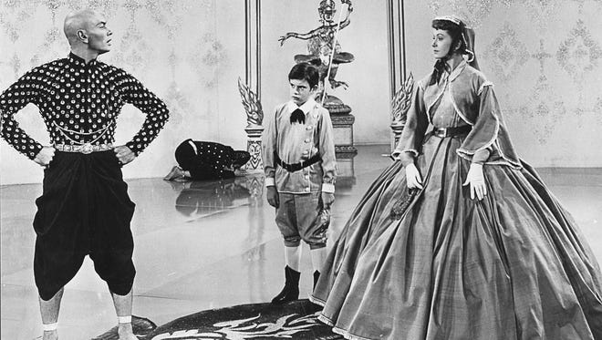 The ubiquitously charming Deborah Kerr is Anna Leonowens, a widowed English schoolteacher hired to instruct the children of the King of Siam (Yul Brynner in an Oscar-winning, career-defining performance).