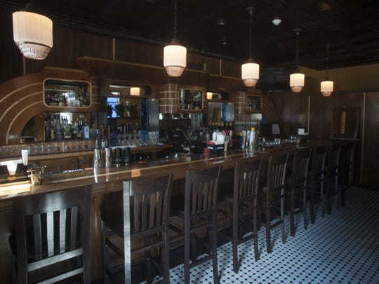 The Bar At Chubby S 1 2 Hearth Steakhouse In Gloucester