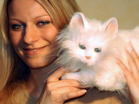 A FurReal cat.