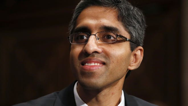 Dr. Vivek Murthy was confirmed last month, for a second time in his career, as the U.S. surgeon general.
