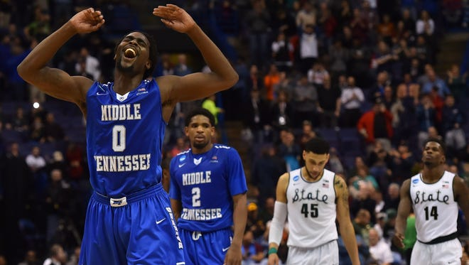 Middle Tennessee became one of the darlings of the NCAA Tournament after upsetting second seed Michigan State, but the Blue Raiders wouldn't have been in the field if they hadn't won their conference tournament.