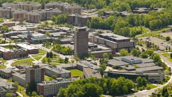 The campus at SUNY Binghamton